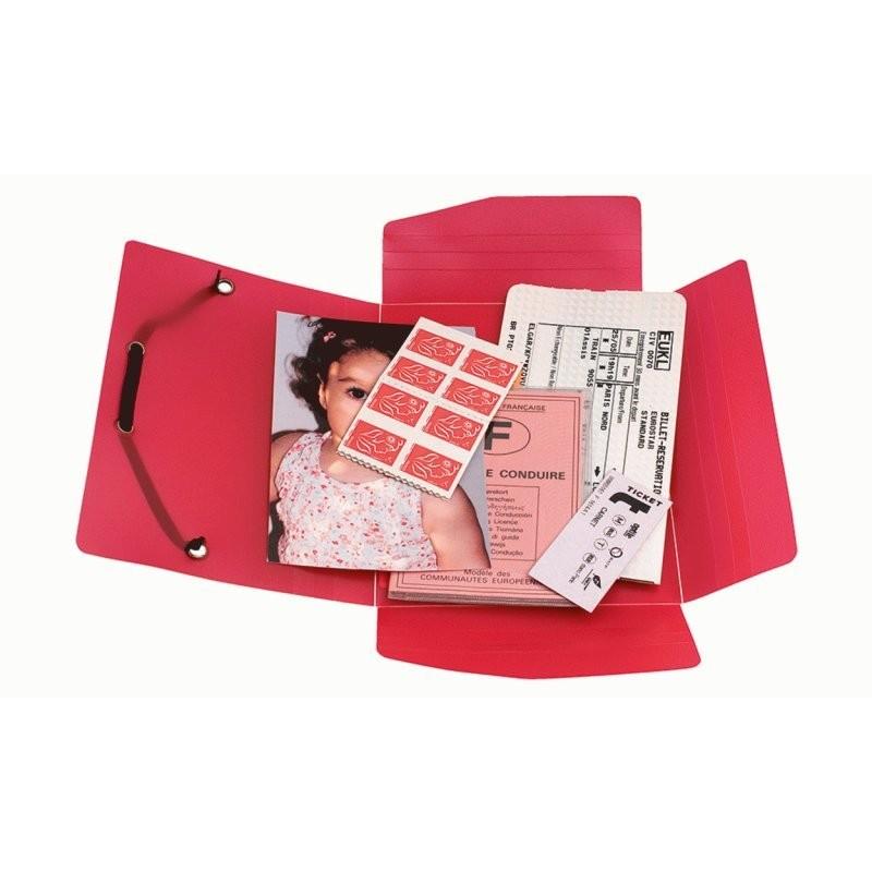 chemise petit format pour documents et photos exacompta 50889e en vente lyon papeterie gouchon. Black Bedroom Furniture Sets. Home Design Ideas
