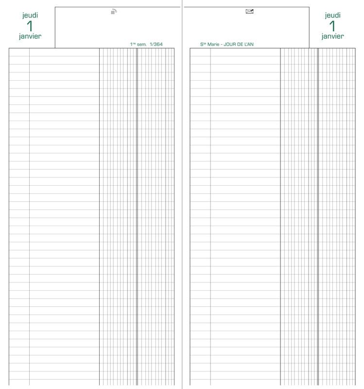 agenda de la banque 1 volume long mod le exacompta 38581e disponible lyon papeterie gouchon. Black Bedroom Furniture Sets. Home Design Ideas