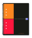 Cahier ActiveBook Quadrillé 5x5 Oxford  - Format A5+ - 160 pages perforées