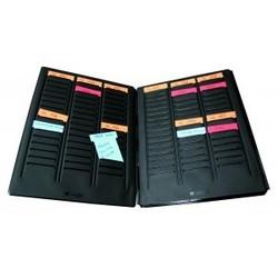 mini planning portable pour fiche en t indice 2 val rex disponible lyon papeterie gouchon. Black Bedroom Furniture Sets. Home Design Ideas