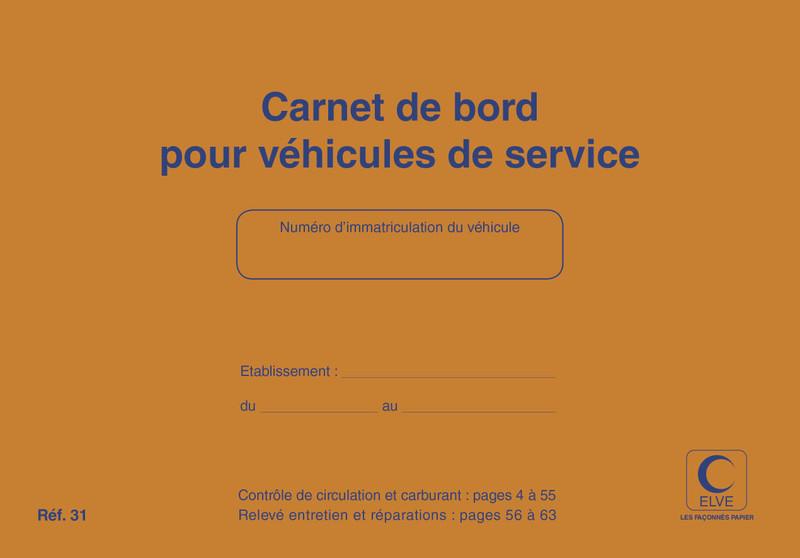 Carnet pour v hicule carnet de bord v hicules de service lyon papeterie gouchon - Garagiste auto entrepreneur ...