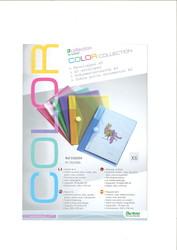 pack de 6 pochettes de couleur pour carnet de bord. Black Bedroom Furniture Sets. Home Design Ideas