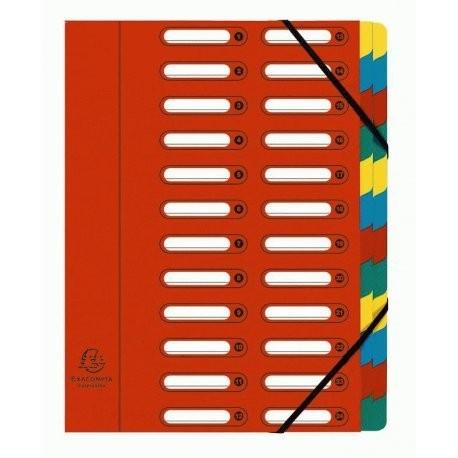 trieur de document 24 compartiments exacompta 5324e en vente lyon papeterie gouchon. Black Bedroom Furniture Sets. Home Design Ideas