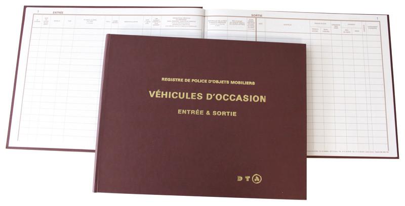 livre de police pour garagistes v hicules d 39 occasion marque dta 1762 lyon papeterie gouchon. Black Bedroom Furniture Sets. Home Design Ideas