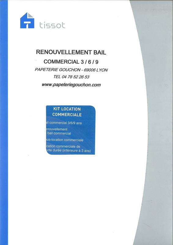 Modele nouveau bail commercial document online - Renouvellement bail meuble ...