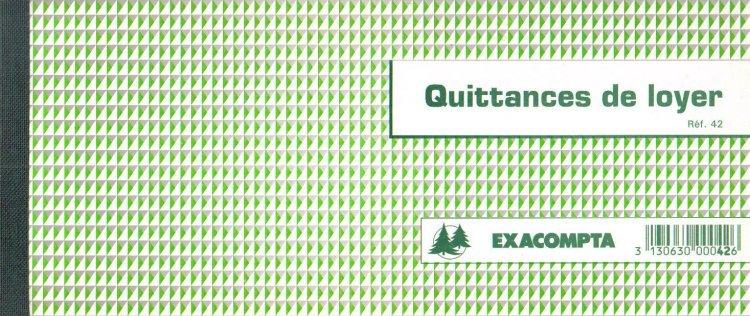 Carnet De Quittances Format Chequier Talon Quittance Pour