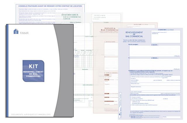 Contrat De Renouvellement Bail Commercial 3 6 9 En Vente A Lyon