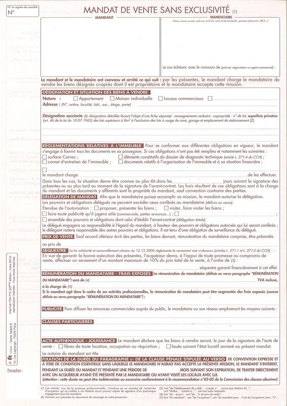 Mandats immobiliers tissot pour vente location gestion for Site vente immobilier