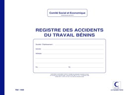 Registre des Accidents du Travail Bénins - Elve 1468