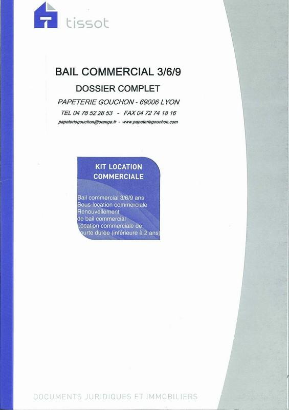 Modele De Bail Commercial Contrat De Bail 3 6 9 En Vente A Lyon