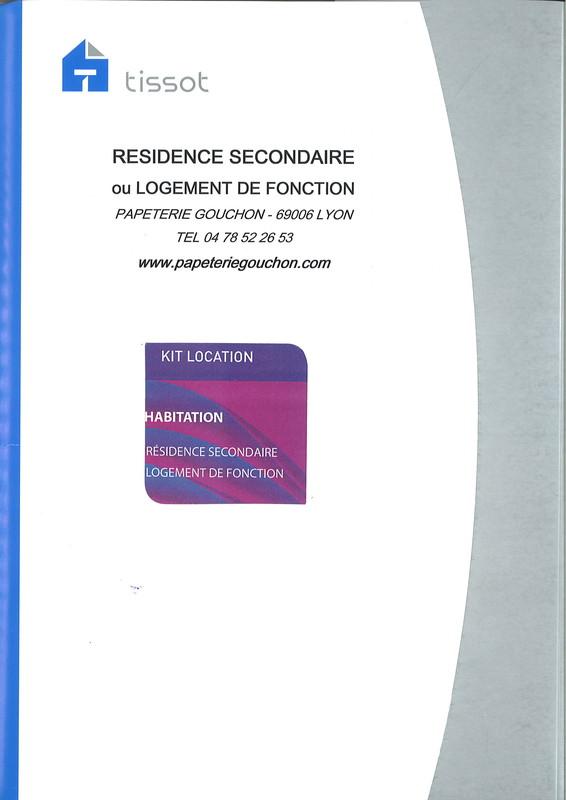 Bail Locatif Pour Locaux Meubls Rsidence Secondaire  Bail De