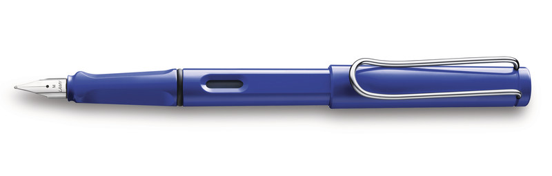 Lamy Safari M Stylo plume Bleu
