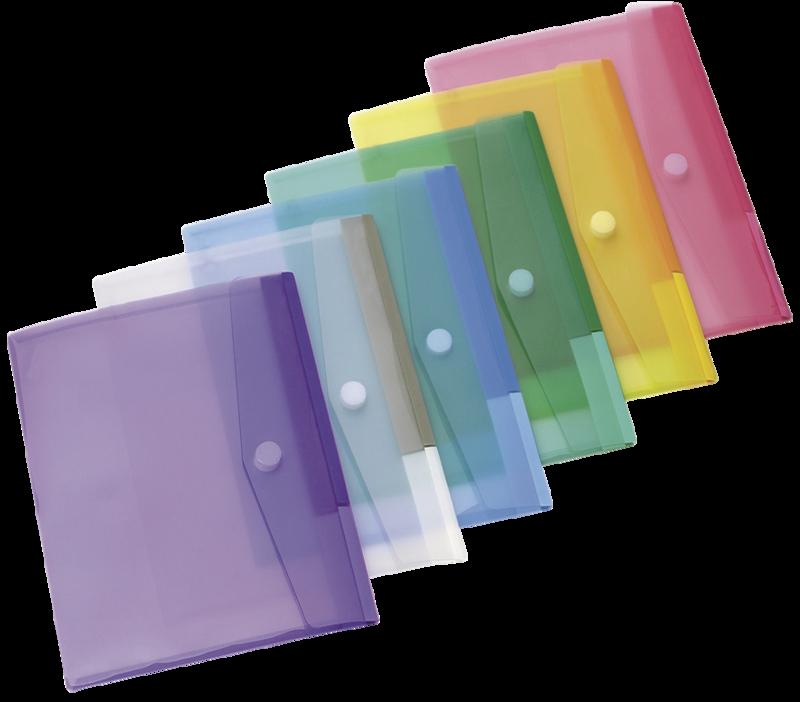 pack de  pochettes de couleur  pour carnet de suivi