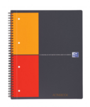 Cahier ActiveBook Quadrillé 5x5 Oxford  - Format A4+ - 160 pages perforées